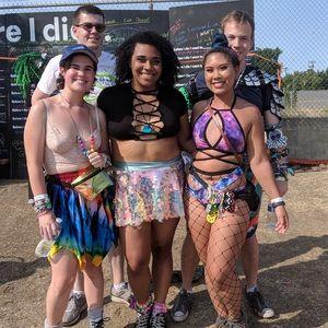 iHeartRaves Skirts - Sequin Rave Skirt
